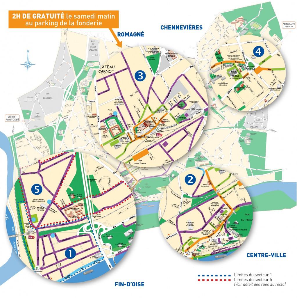 Carte Stationnement Ville De Conflans Sainte Honorine