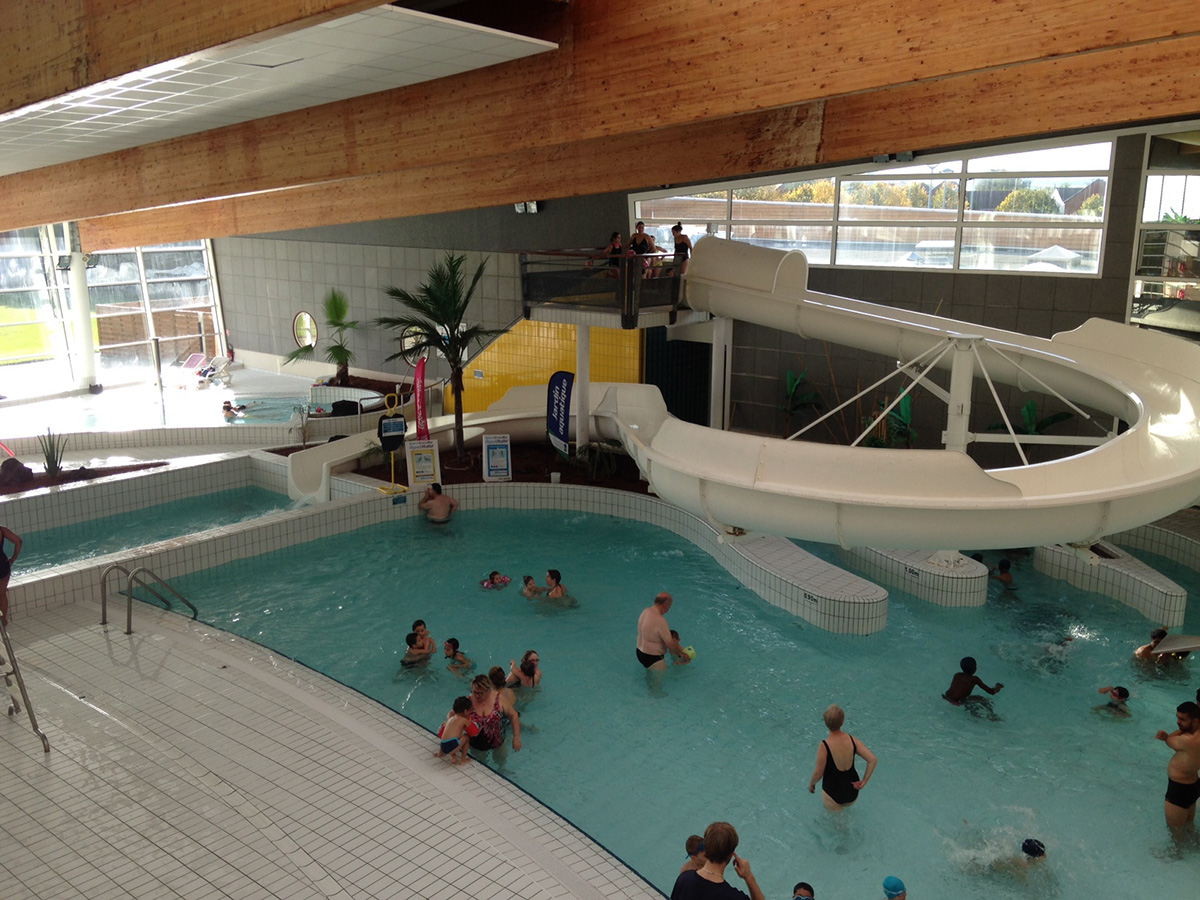 Illustration centre aquatique ville de conflans sainte for Piscine de conflans