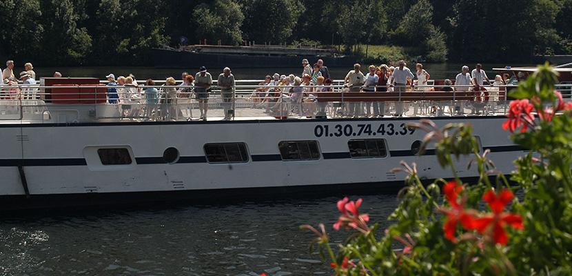 promenade bateau isle adam