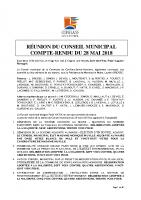 CR du CM 28 mai 2018