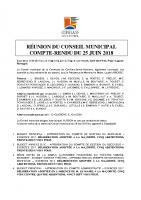 CR du CM 25 juin 2018