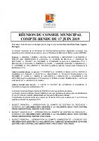 CR du CM du 17 juin 2019