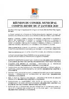 CR CM 27 janvier 2020