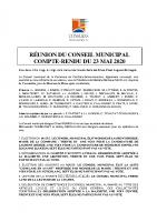 CR CM 23 mai 2020