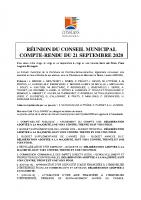 CR CM 21 septembre 2020