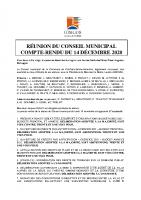CR CM 14 décembre 2020