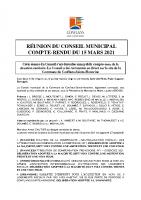 Compte-rendu CM 15 mars 2021